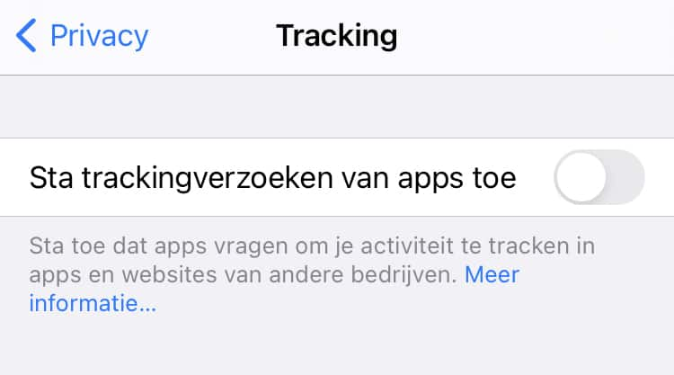 ios 14.5 tracking